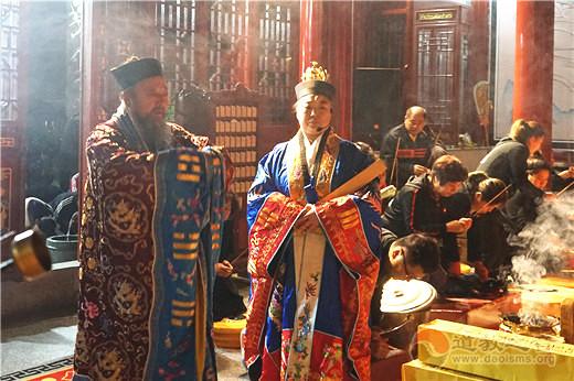 吉林省吉林玄帝观隆重启建祭月赏月活动