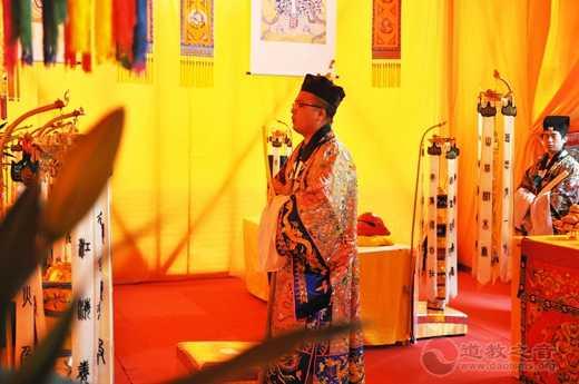 上海城隍庙法务团参加成都青城山罗天大醮活动