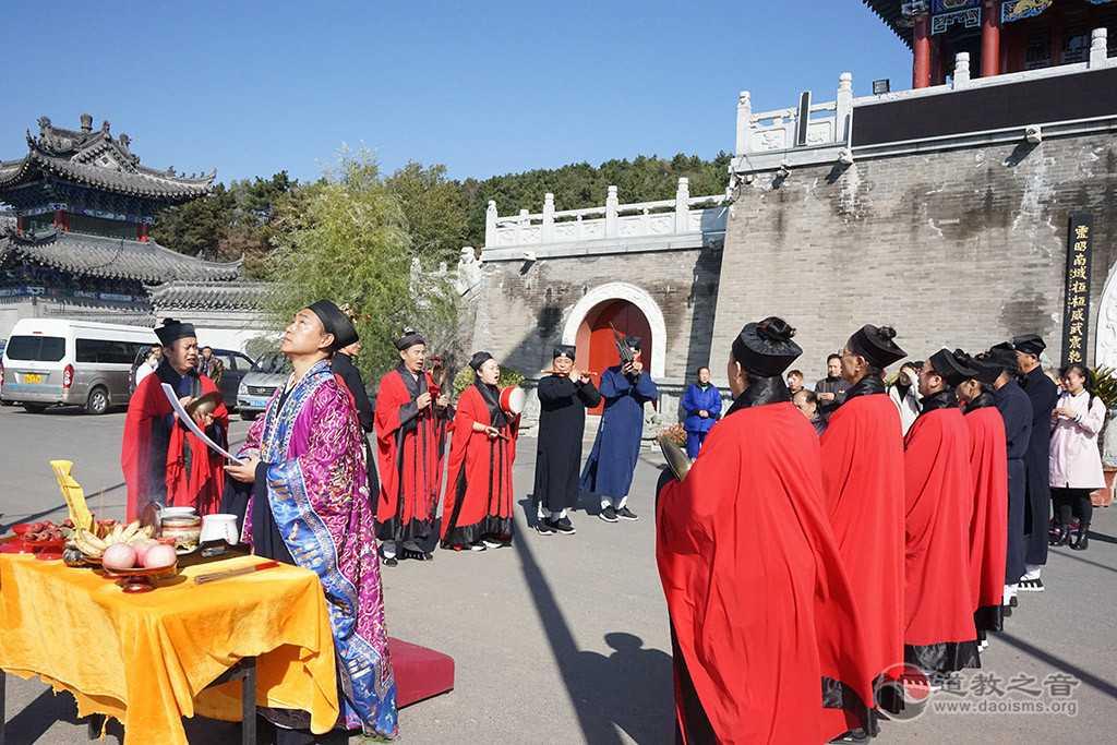 吉林省吉林市玄帝观九皇会暨皈依法会举行