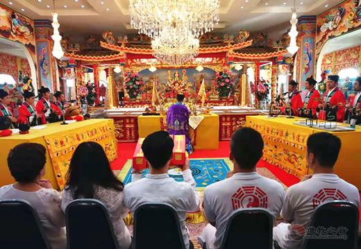 浙江省台州大有宫经师团受邀赴泰国参加九皇会