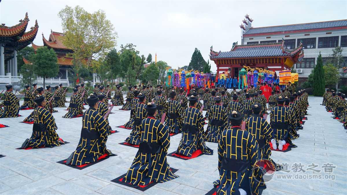 戊戌(2018)年南岳衡山道院全真派道士传戒活动