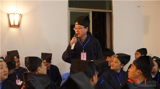 湖北省首届正一派道士传度法会度生报到