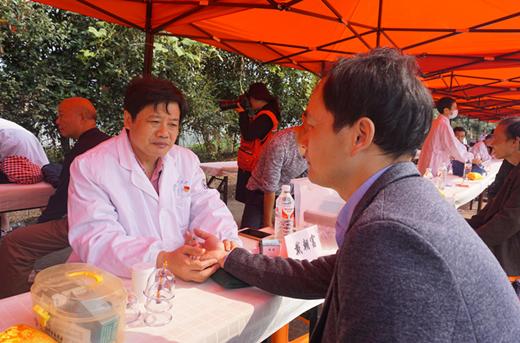 浙江省兰溪市举办黄大仙故里文化节暨第三届义诊节活动