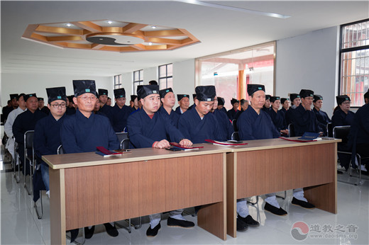 江苏省镇江市润州道院戊戌年下半年道教正一派传度法会圆满举行