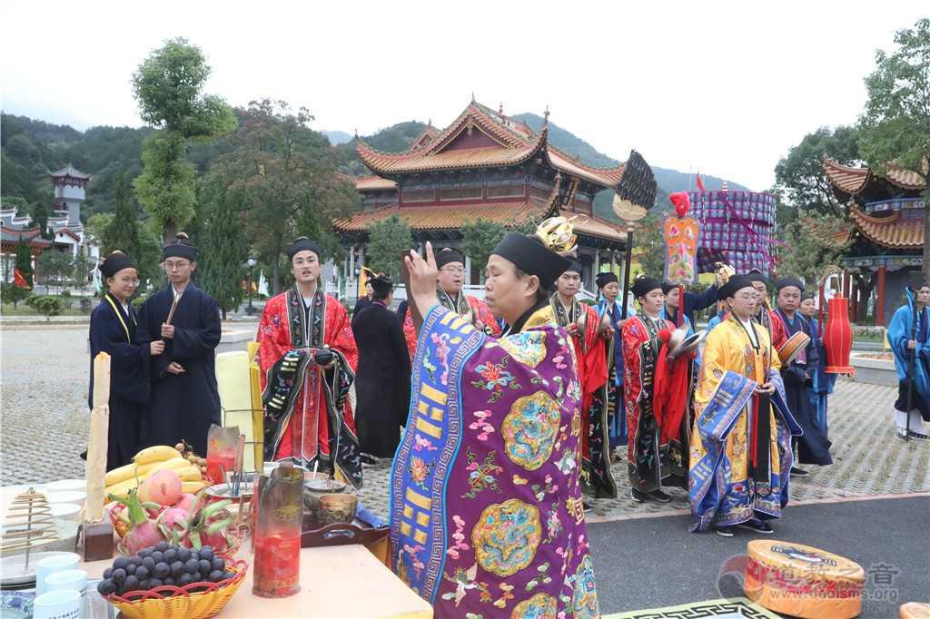 戊戌年南岳衡山道院传戒活动讲说饥饿戒