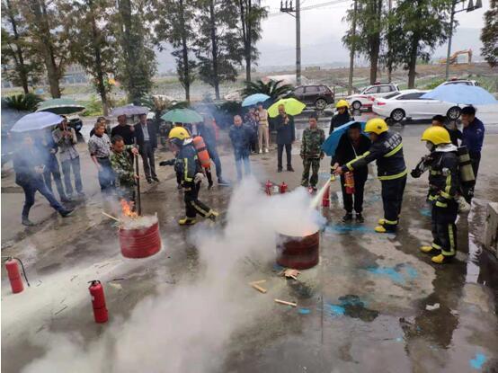 温州市永嘉县组织道教界开展消防安全演练活动