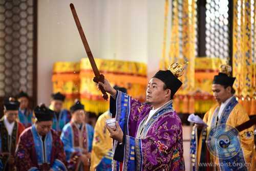 戊戌年南岳衡山道院传戒活动组织圆戒座谈