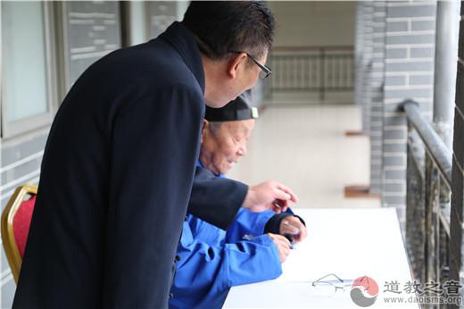 戊戌(2018)年内地正一派道士初授箓举行笔试考核、箓坛演礼