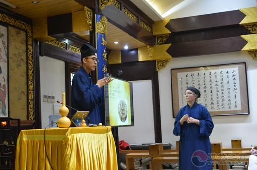 法国道教协会访问团参访上海城隍庙