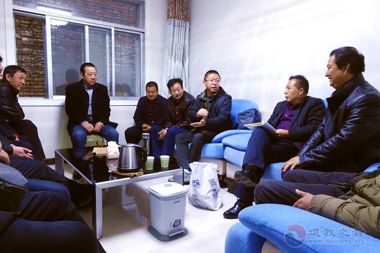 陕西榆阳道协召开会长扩大会部署冬季安全保障工作