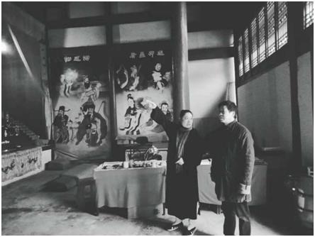 湖北省道教协会鄢金华副会长赴恩施调研道教工作