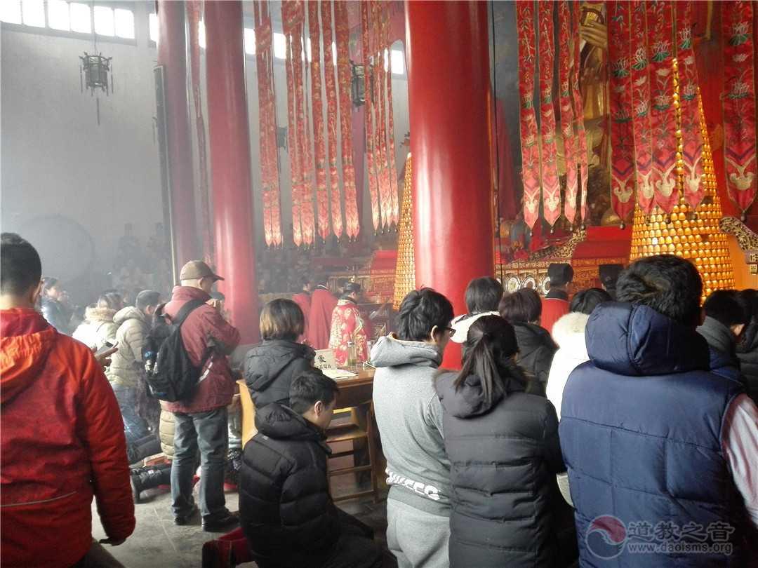 江苏镇江润州道院举行戊戌年十月金牛山庙会