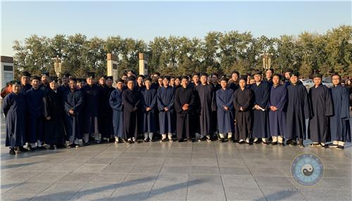 中道协教职员工和中国道教学院师生参观庆祝改革开放40周年大型展览