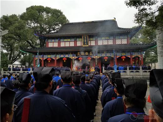 戊戌(2018)年海外正一派道士授箓举行参神谒祖等