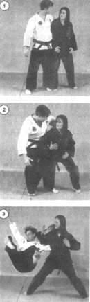 女子防身术的七大要领_防身术-攻击者-女子-摔倒-