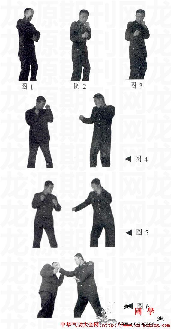 反背拳的练与用_连贯-击打-格斗-面部-
