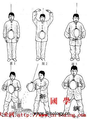 太极球功法之吊球功_铁球-功法-弓步-神意-