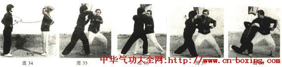 三皇炮捶拳肘法精选(中)_腕部-技击-乙方-右臂-