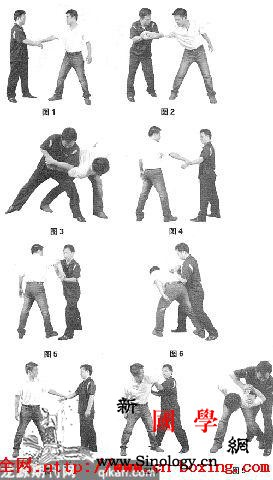 常用擒拿法_擒拿-肘部-左臂-站立-