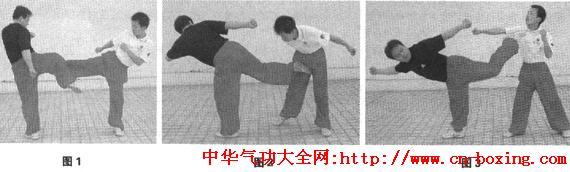 北腿绝技—后撩腿实战法_劲力-目视-实战-通透-