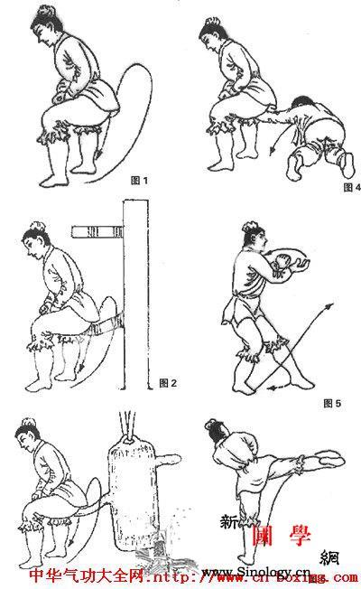 臀坐截肘实用防身制敌术教学_肘关节-头面-目视-右脚-