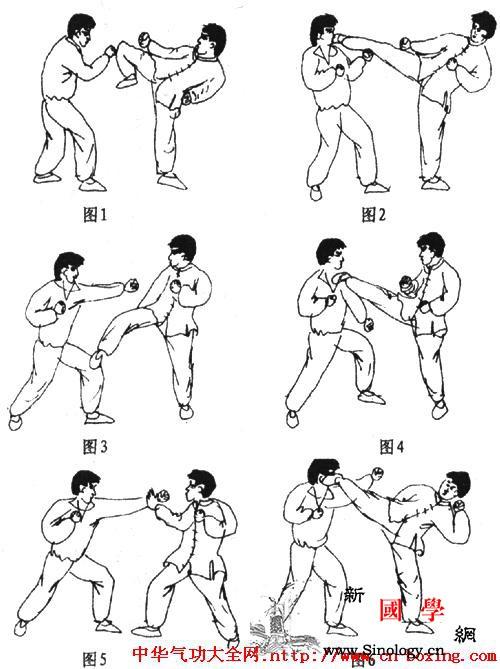高腿搏击技术_连贯-上体-右腿-时用-