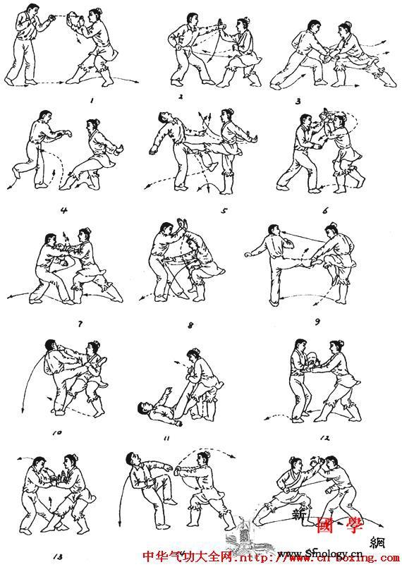 东北秘宗拳入门技击法_目视-右脚-玄机-技法-