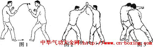 一扛能发千斤力两肩变化把敌擒_转体-左臂-右脚-左脚-