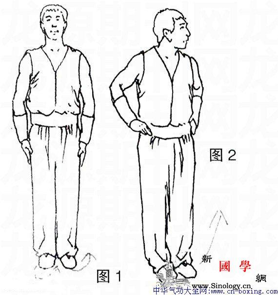 梅山拳术套路猛虎下山拳图解_猛虎-弓步-拳术-目视-
