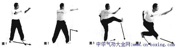 刘百川传技击八捶演练法_演练-技击-击出-右脚-