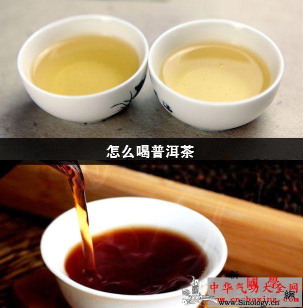 怎么喝普洱茶_普洱-普洱茶-茶汤-冲泡-