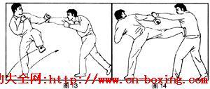 拳法与步法配合应用_步法-拳法-甲方-配合-