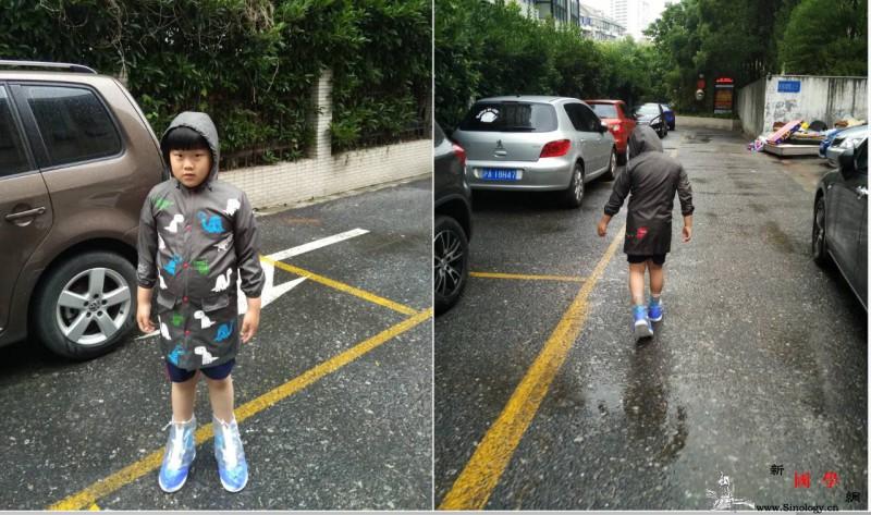 下雨天你敢让孩子尽情地去踩水吗?踩水原来对_踩水-水洼-仔仔-受寒-
