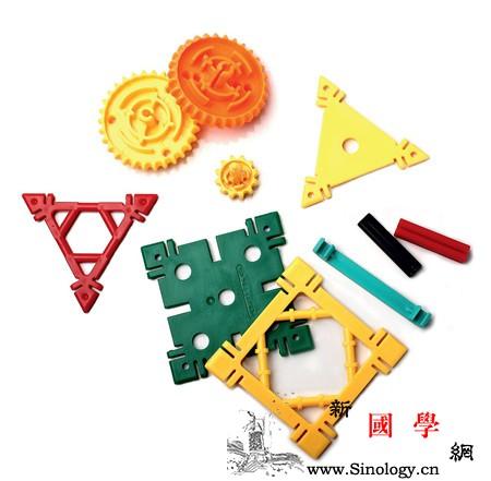 拼插积木不一样的新玩法_角形-组合-连杆-积木-