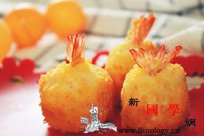 儿童美食推荐—土豆泥鲜虾球_虾球-均匀-脂肪-土豆-