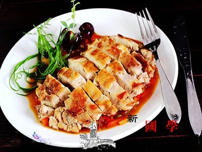 儿童美食菜谱之嫩姜焗鸡_鸡腿-调味汁-颗粒状-适量-