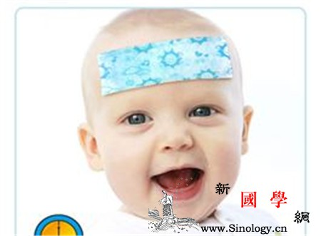贴退热贴过敏怎么办宝宝发烧时要慎用_时要-额头-热贴-症状-