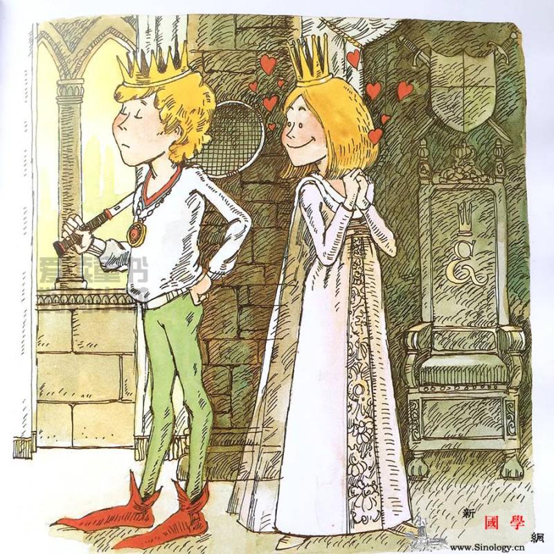 给女儿读这本绘本将来她遇到渣男也不怕_伊丽莎白-纸袋-火龙-女儿-