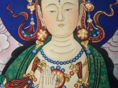 佛教菩萨画-2019-1102-1 ()