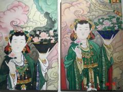 佛教水彩画像-2019-1102-2 ()
