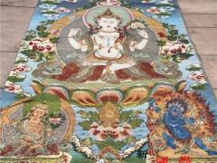喇嘛教唐卡画-2019-1102-1 ()